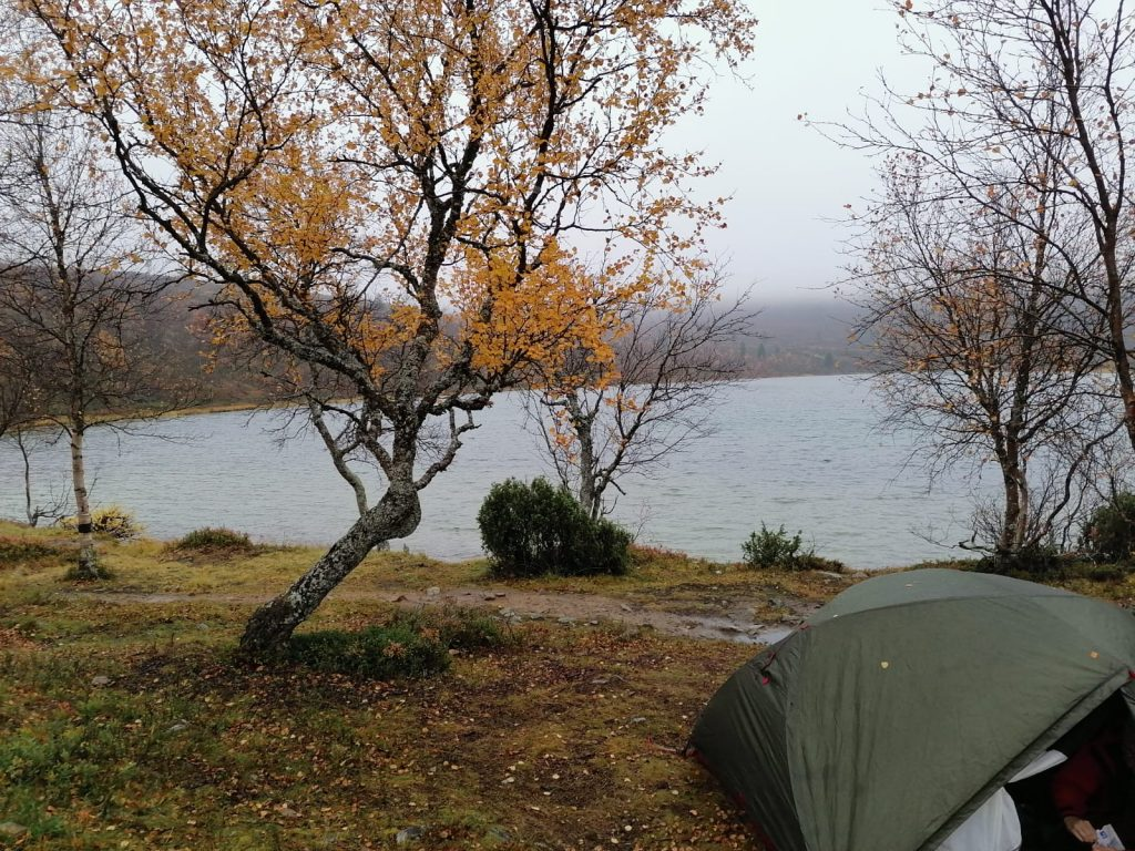 Campsite at Urho Kekkonen National Park