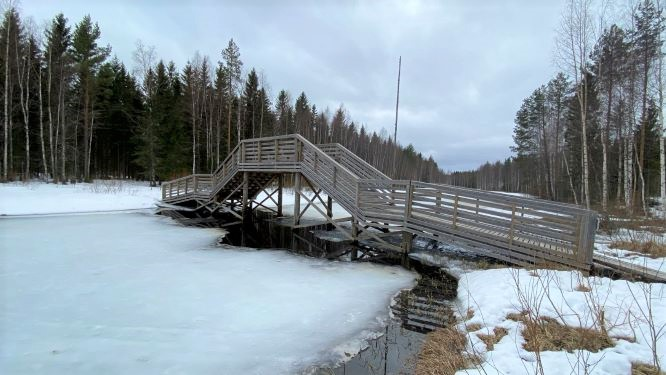 Heinäjoki in Pihtipudas