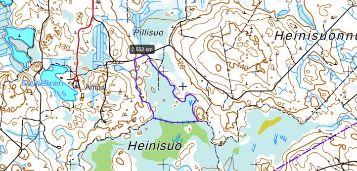 Heinisuo map