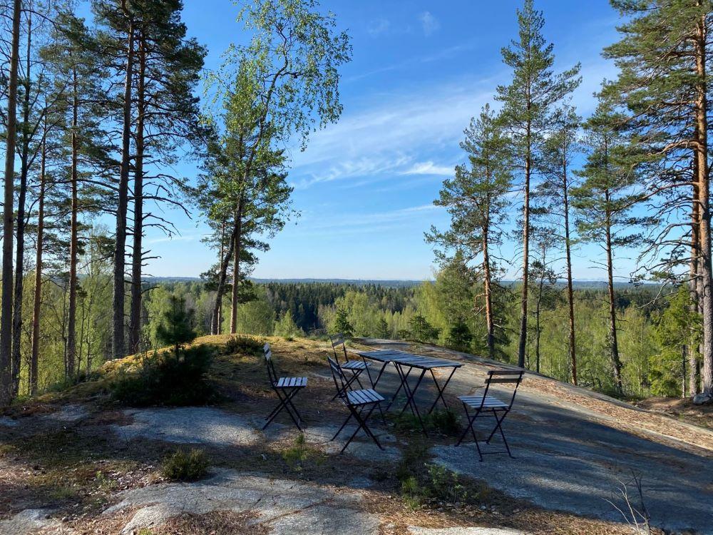 Pölkinvuori hill has great views
