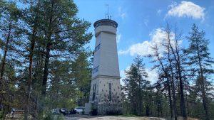 Savivuori observation tower at Viitasaari