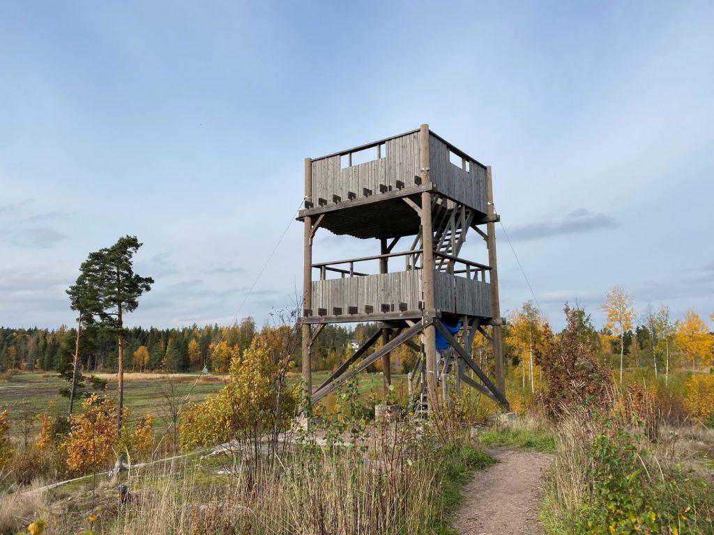 Järvelä birdwatching tower